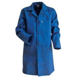 Sur-blouse médicale bleue T2